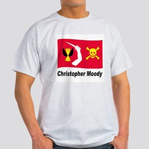 Pirate Flag - Christopher Moody (Front) Light T-Sh