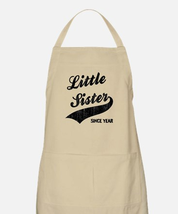 Little sister big sister since year Apron