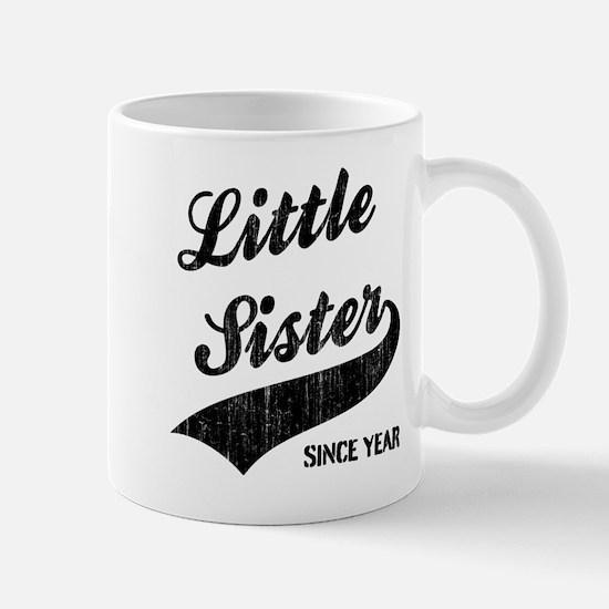 Little sister big sister since year Mug
