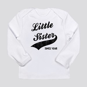 Little sister big siste Long Sleeve Infant T-Shirt