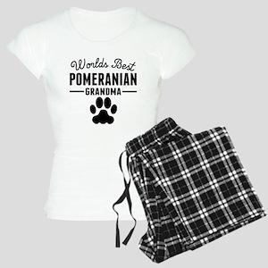 Worlds Best Pomeranian Grandma Pajamas