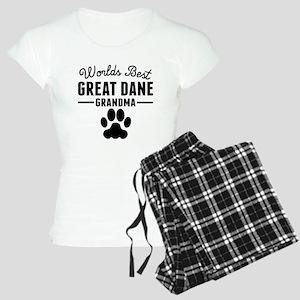 Worlds Best Great Dane Grandma Pajamas