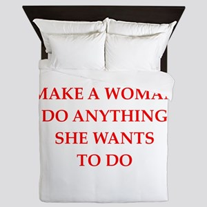 woman Queen Duvet