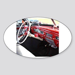 Classic car dashboard Sticker