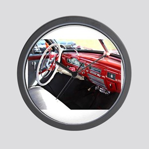 Classic car dashboard Wall Clock