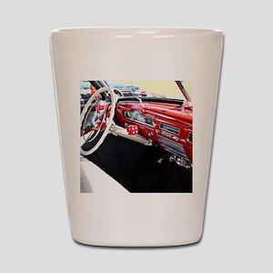 Classic car dashboard Shot Glass