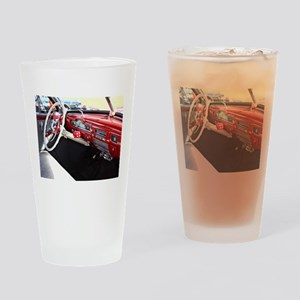 Classic car dashboard Drinking Glass