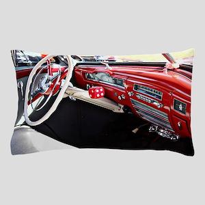 Classic car dashboard Pillow Case