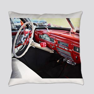 Classic car dashboard Everyday Pillow