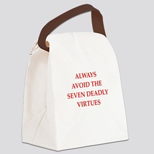 deadly Canvas Lunch Bag