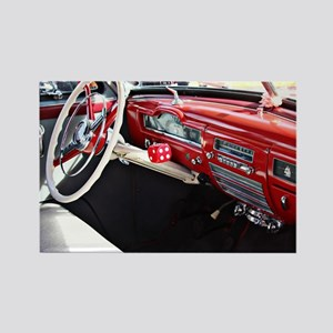 Classic car dashboard Magnets