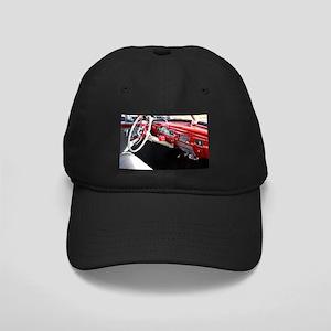 Classic car dashboard Black Cap