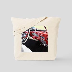 Classic car dashboard Tote Bag