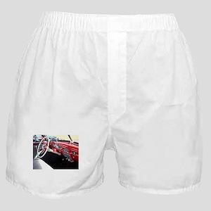 Classic car dashboard Boxer Shorts