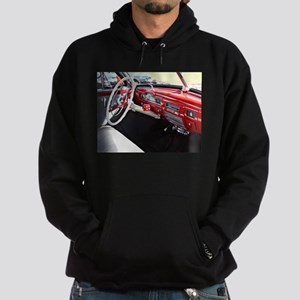 Classic car dashboard Hoodie (dark)