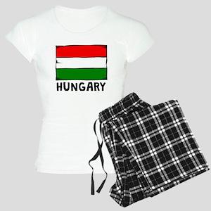 Hungary Flag Pajamas