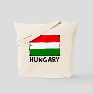 Hungary Flag Tote Bag
