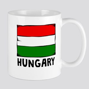 Hungary Flag Mugs