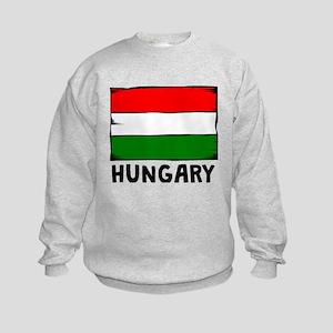 Hungary Flag Sweatshirt
