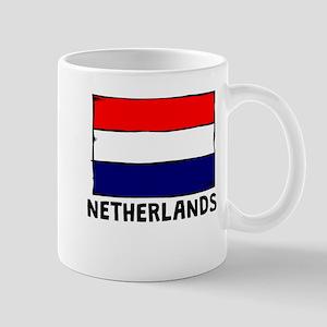 Netherlands Flag Mugs