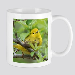 Yellow Warbler Mugs