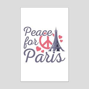 Peace For Paris Mini Poster Print