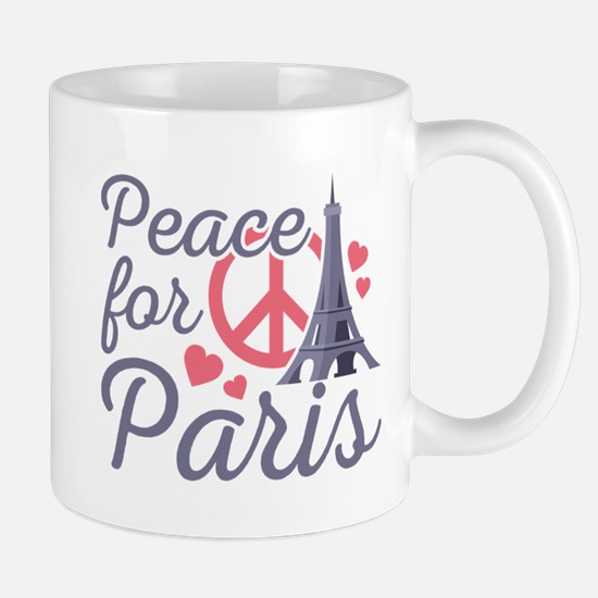 Peace For Paris Mug