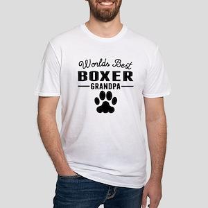 Worlds Best Boxer Grandpa T-Shirt