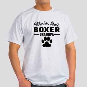 Worlds Best Boxer Grandpa T-Shirt