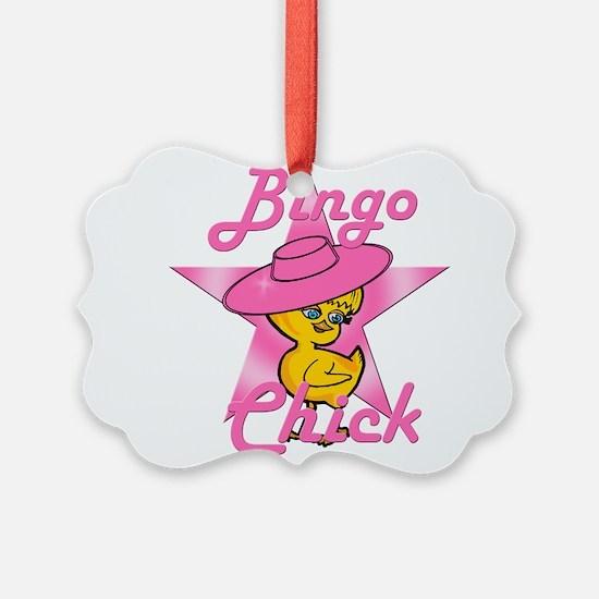 Bingo Chick #8 Ornament
