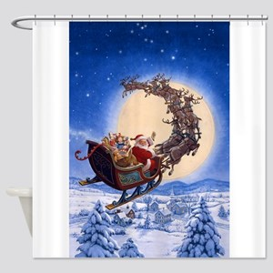 A Merry Christmas to All Shower Curtain