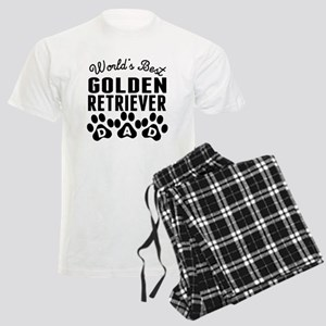Worlds Best Golden Retriever Dad Pajamas