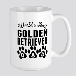 Worlds Best Golden Retriever Dad Mugs