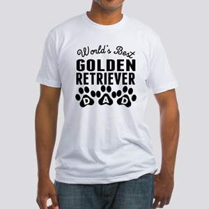 Worlds Best Golden Retriever Dad T-Shirt