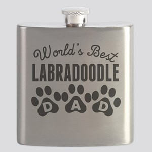 Worlds Best Labradoodle Dad Flask