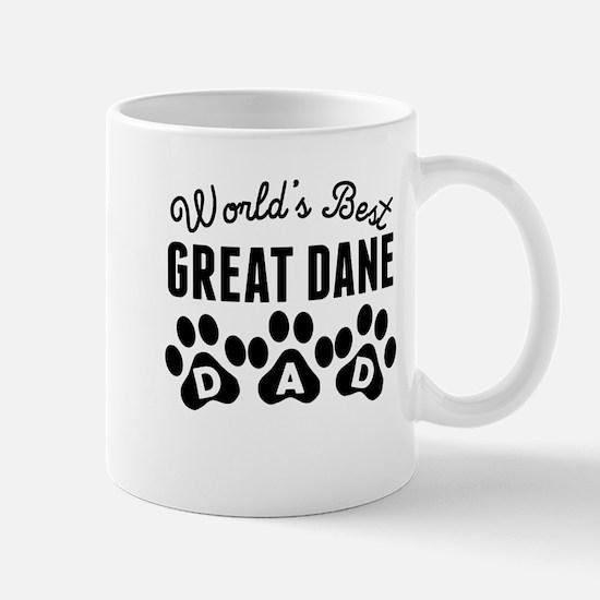 Worlds Best Great Dane Dad Mugs