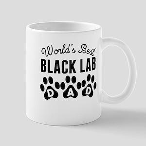 Worlds Best Black Lab Dad Mugs