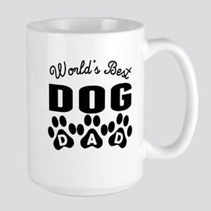 Worlds Best Dog Dad Mugs