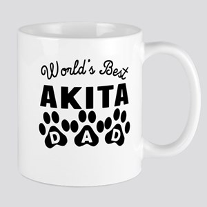 Worlds Best Akita Dad Mugs