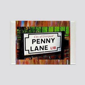 penny lane liverpool England famous sign Magnets