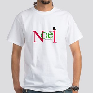 Hats Off Noel Men's White T-Shirt