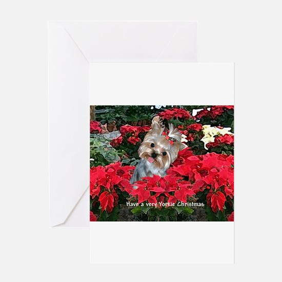 Cute Dog painting Greeting Card