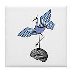 Bird Brain 2 Tile Coaster