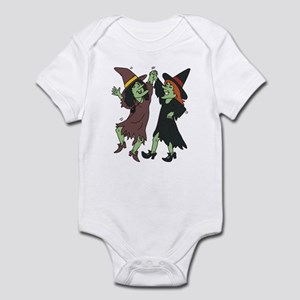 Dancing Witches Infant Bodysuit