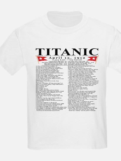 Cute Titanic historical research guild T-Shirt