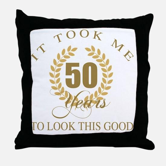 Cute Bday Throw Pillow