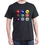 Brain Buttons T-Shirt