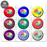 Brain Buttons Puzzle