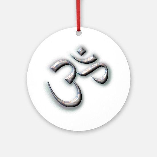 Ohm Ornament (Round)