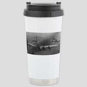 Pair of B17 Mighty 8th Stainless Steel Travel Mug